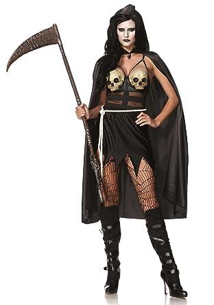 Amazon.com: Leg Avenue - Disfraz de muerte, disfraz de Death ...