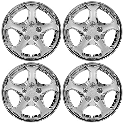 "Custom Accessories 94202 Xt Profile 15"" Wheel Cover, Set of 4: Automotive"
