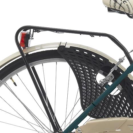 Bicicleta de paseo para mujer de 26 pulgadas de Cinzia Friendly, mujer, 8033389460266, verde: Amazon.es: Deportes y aire libre