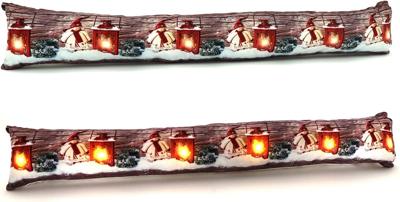 Paraspifferi Luminoso Orsetti Teddy Love Decorazione per la casa arredo Natale Stampa Digitale R.P