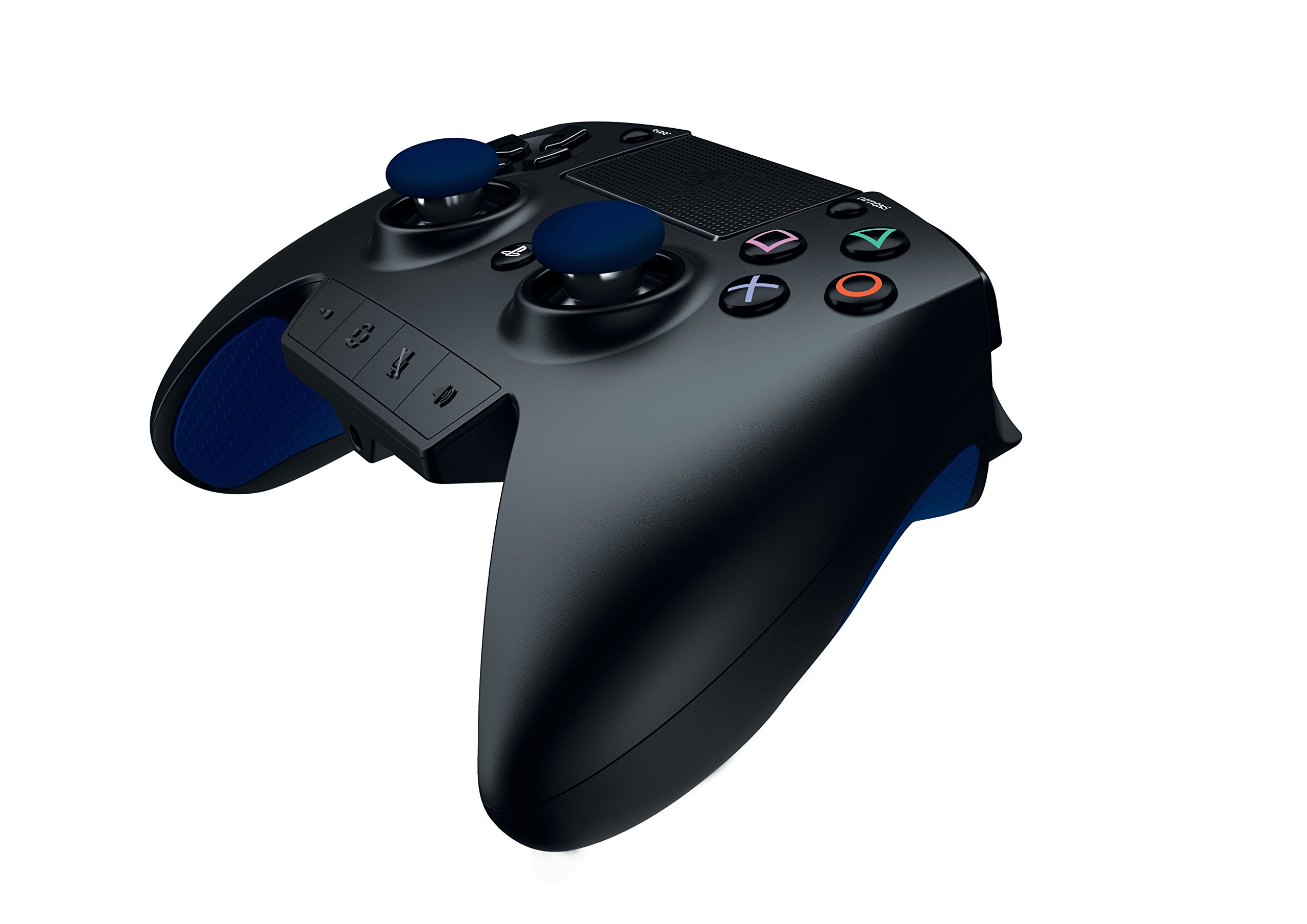Razer Raiju - Next-Gen Premium Gaming Controller for PlayStation 4 - Fully-Programmable Hyper-Responsive Buttons, Blue by Razer (Image #5)