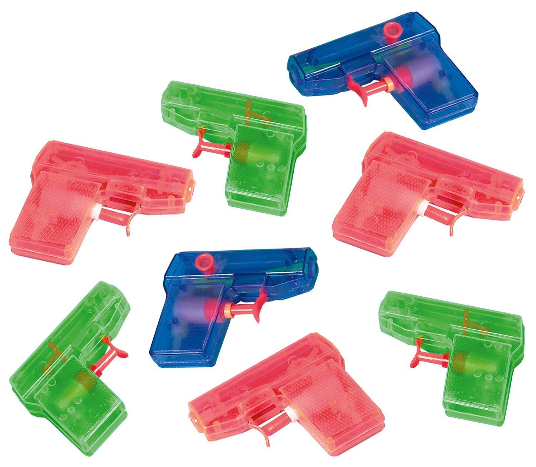 Amscan INT390185 Wasserpistole Mitgebsel Party-Fun, 8 Stück 8 Stück