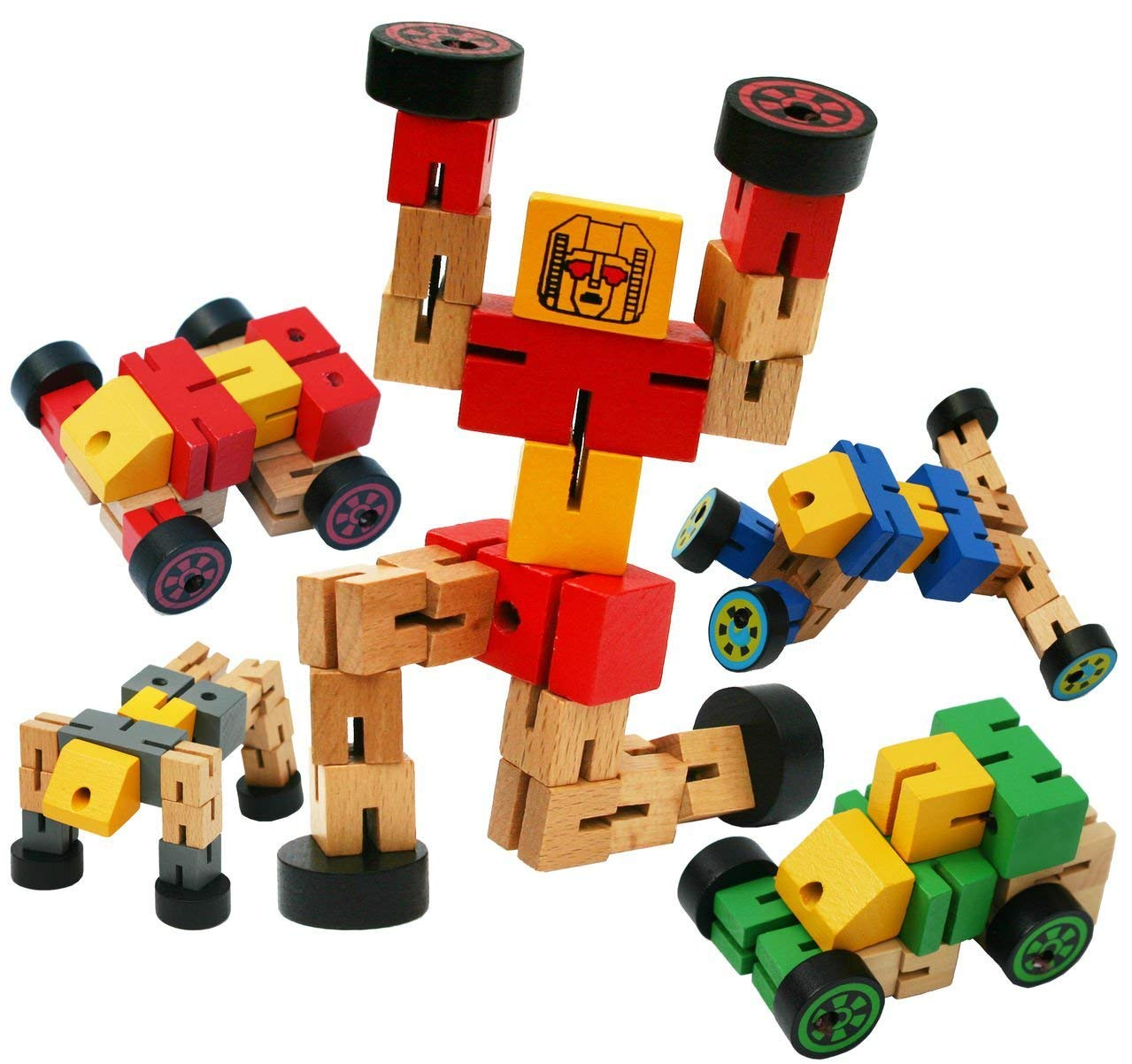 Wooden Toys 3 Year Old Toys of Wood Oxford Wooden Transfigures Toy Orange Construction Vehicle Toys