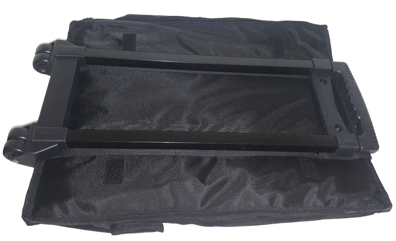888 Display Large Jewelry Display Rolling Carrying Case w/17 Trays (Shiny Textured Gold) by 888 Display USA (Image #6)