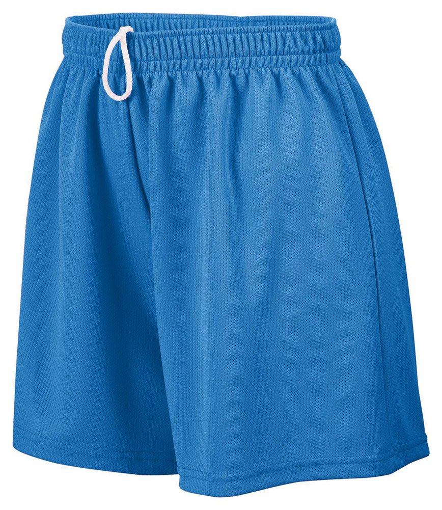 Augusta Sportswear Girl's Wicking Mesh Short, Small, Royal
