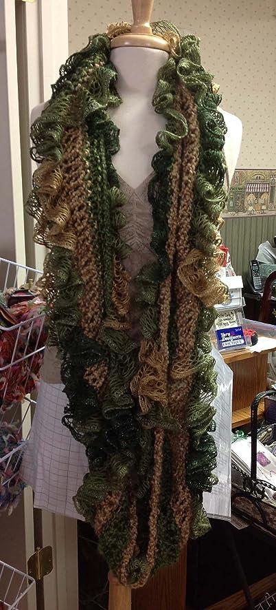 Amazon Easy Knit Scarf Kit Yarn Designers Boutique Infinity