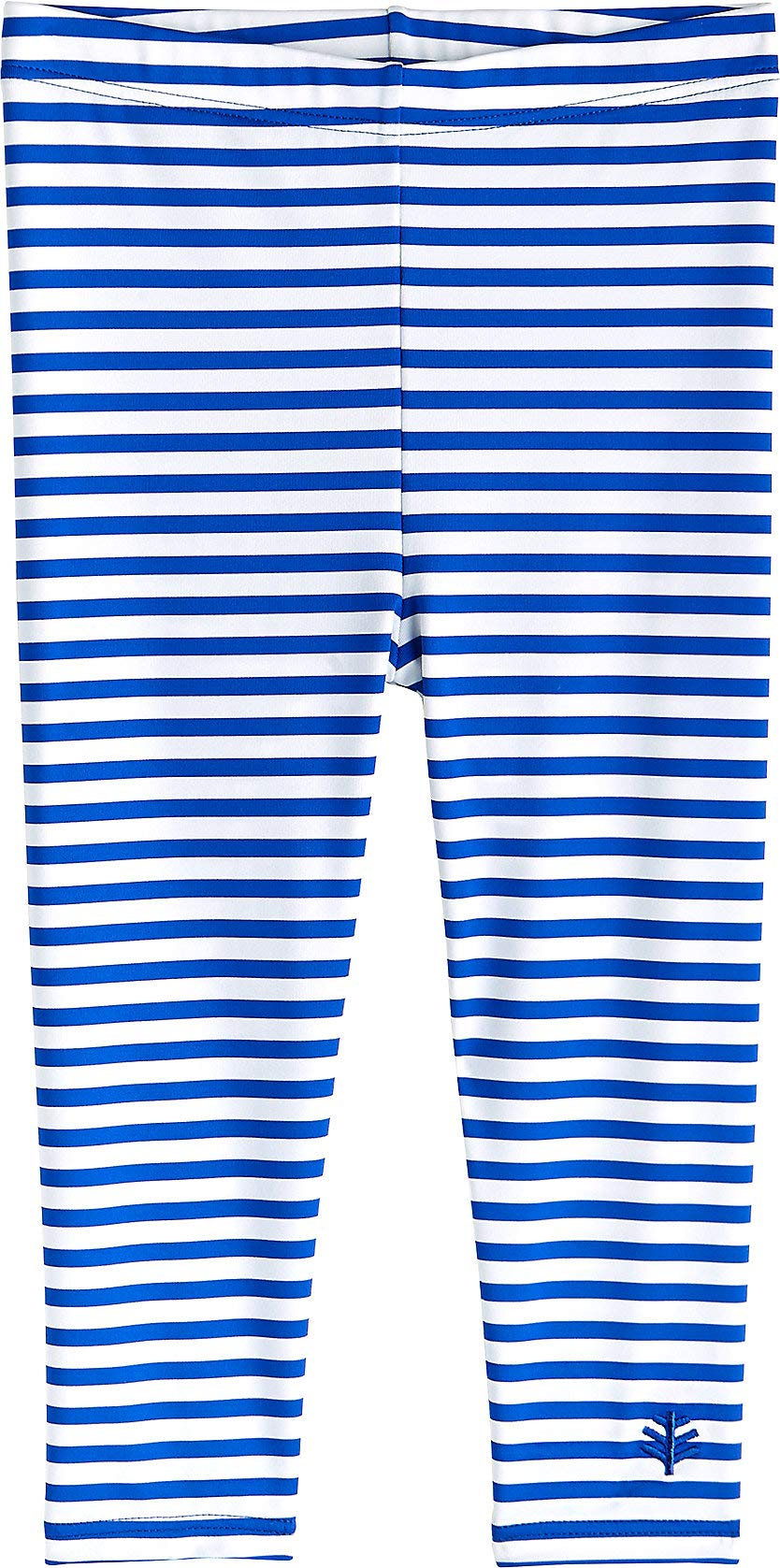 Coolibar UPF 50+ Baby Wave Swim Tights - Sun Protective (6-12 Months- Baja Blue Stripe) by Coolibar