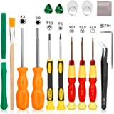 Nintendo Screwdriver Set-Younik Triwing Screwdriver for Nintendo 17 in 1 Professional Screwdriver Game Bit Repair Tools…