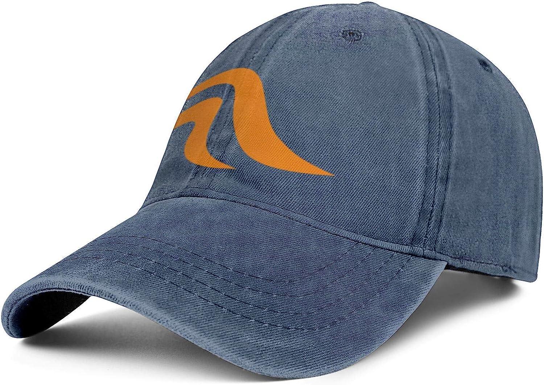 Snapback Mens Womens Adjustable Denim Rock Caps Baseball Hat HanseYachts-Logo