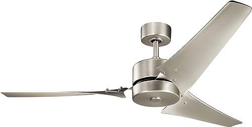 Kichler 330010NI Motu 60″ Ceiling Fan