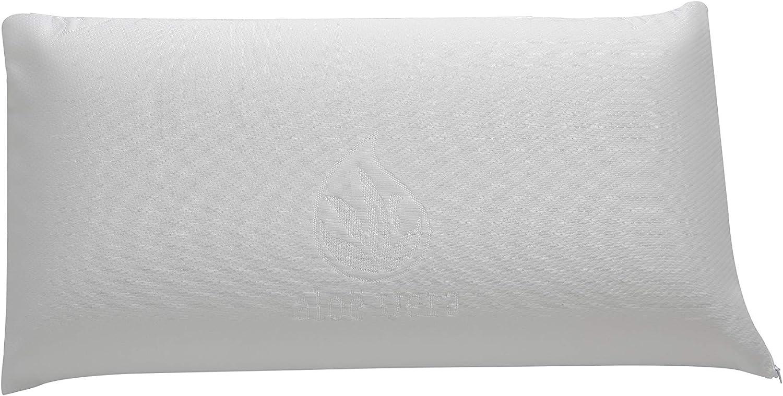 Cozzy VISCO Almohada Viscoelastica de 70, Blanco, 70 cm