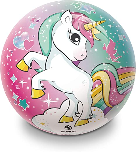 MONDO S.P.A. (MOD) - Unicornio balón d230 06741, Multicolor, 123 ...