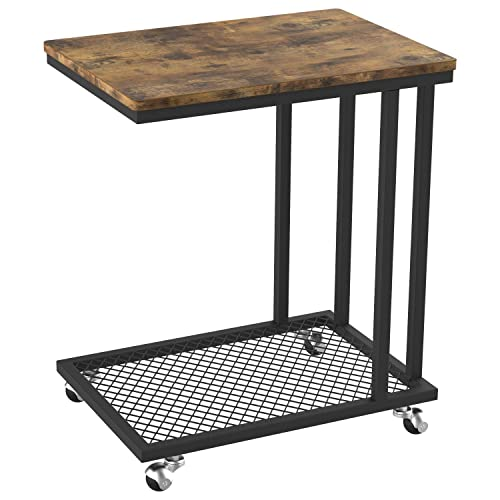 IRONCK Industrial Side Table Living Room