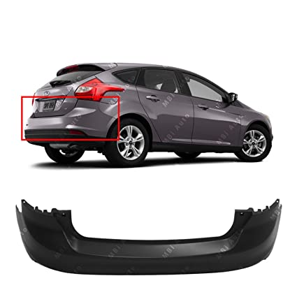 Amazon.com: MBI AUTO   Primered, Rear Bumper Cover For 2012 2014 Ford Focus  Hatchback 12 14, FO1100676: Automotive