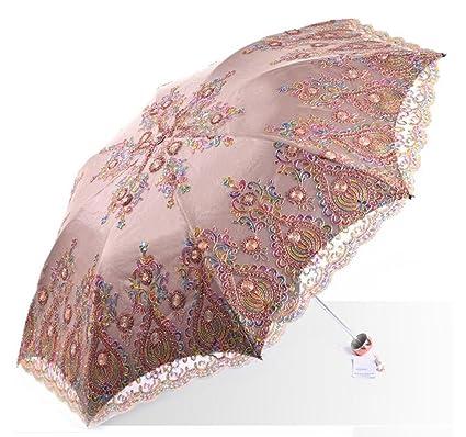 Sombrillas, Paraguas de Sol Paraguas UV, el Paraguas Está doblado Doble, una Variedad