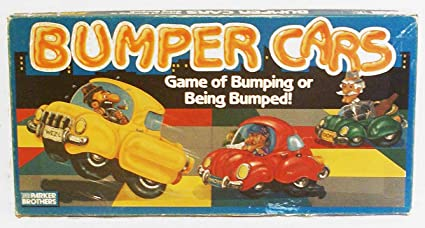Amazon Com Bumper Cars Game Of Bumping Or Being Bumped Toys Games