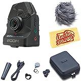 Zoom Q2n Handy Video Recorder - Black Bundle with Zoom APQ-2n Accessory Pack and Austin Bazaar Polishing Cloth