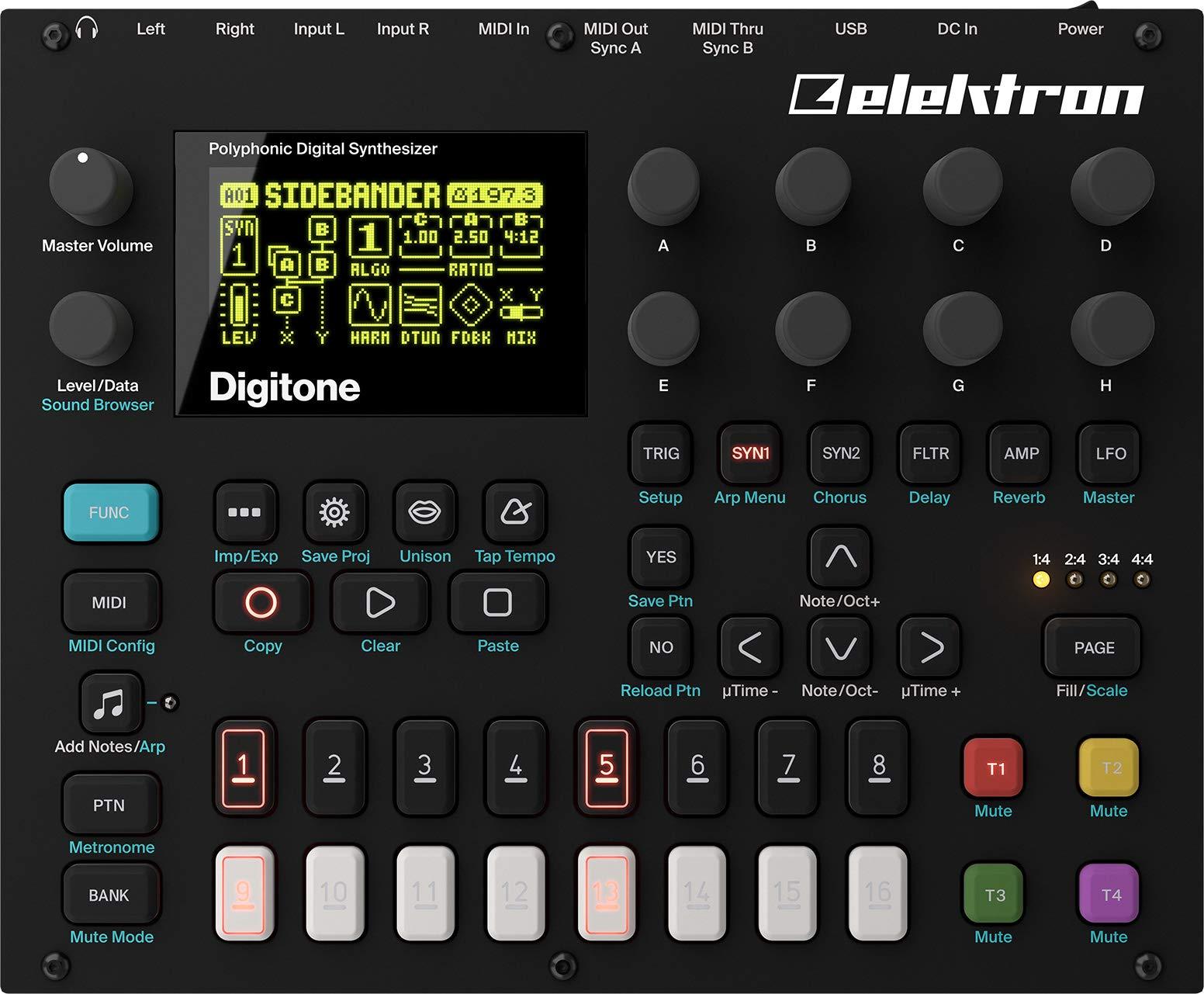 Elektron Digitone 8-voice Digital Synth w/sequencer