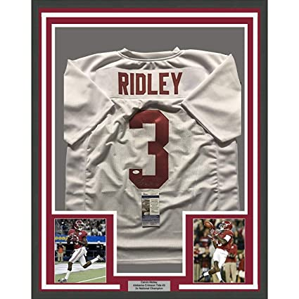 newest collection 82153 766b7 Framed Autographed/Signed Calvin Ridley 33x42 Alabama ...