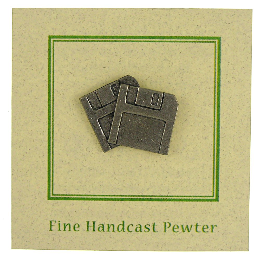Jim Clift Design Floppy Disk Lapel Pin - 50 Count by Jim Clift Design (Image #3)