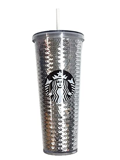 Starbucks New Venti 20oz Frosted Glass Tumbler 2017 Holiday In