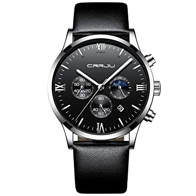 Men s Fashion Watch Simple Casual Analog Quartz Date with Black Milanese Mesh Band Minimalist Wrist Watches