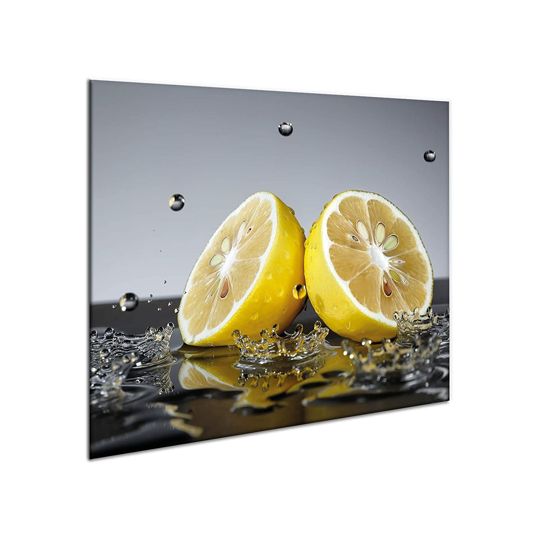 Tabla protectora de encimera, de cerámica, 60 x 52 cm, de gran tama?o, de cristal templado, para cortar, se puede colocar en la pared para evitar salpicaduras, protector de vitrocerámica Sema Design LTD