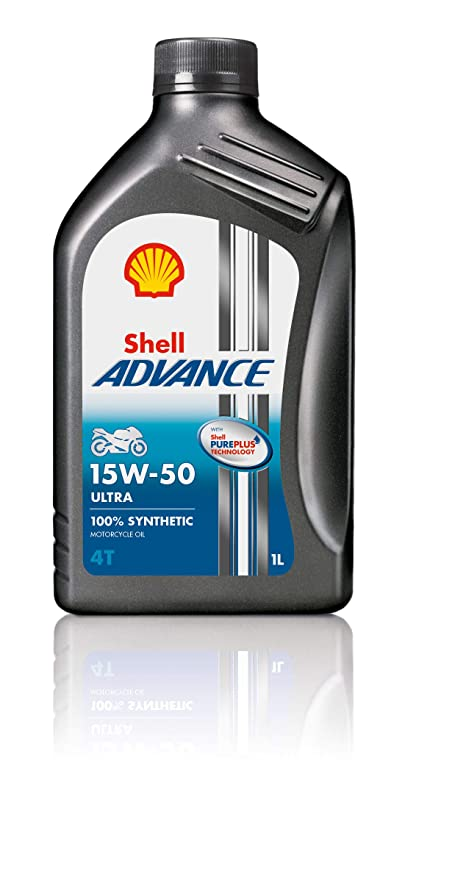 Shell - Advance 4t 15 w-50 Ultra Pure Plus Technology - Aceite ...