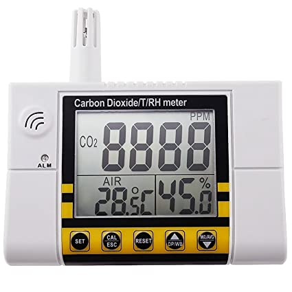 AZ Instruments dióxido de carbono Temperatura del Detector izquierda o derecha humedad calidad del aire en