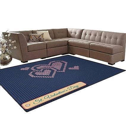 Amazon Valentines Day Carpet Digital Knit Wear Like Pattern