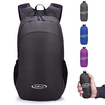 G4Free Foldable Ultralight Rucksack Tear   Water Resistant Portable Backpack  School Daypacks for Outdoor Walking 81e4bda5c6672