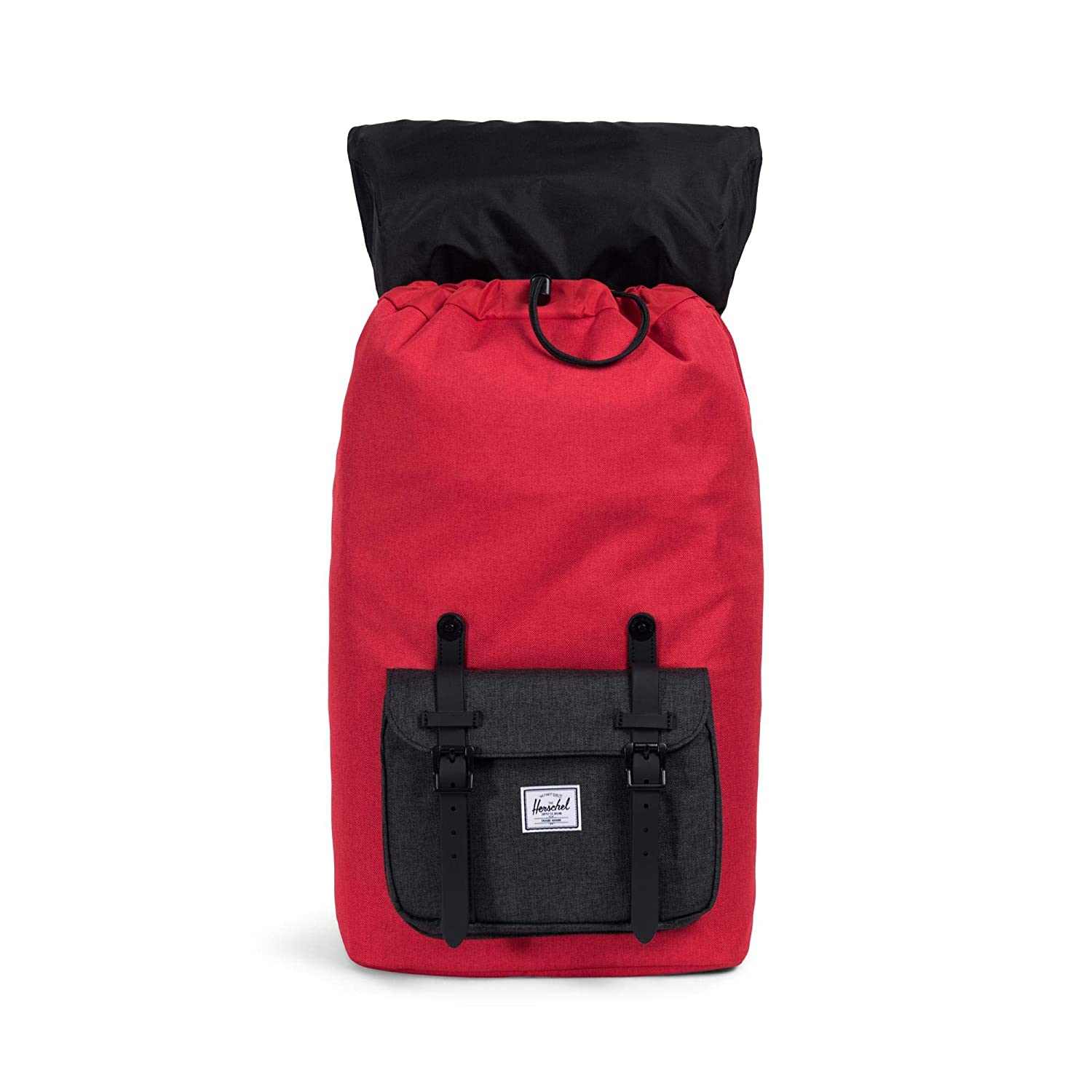 Herschel Little America Backpack Barbados Cherry/Black Crosshat: Amazon.es: Zapatos y complementos