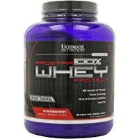 Ultimate Nutrition Prostar 100% Whey Protein - 5.28 lbs (Strawberry)