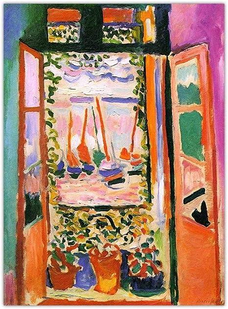 RTCKF Arte Micro-Jet Imprimir núcleo Lienzo Pintura Henry Matisse ...