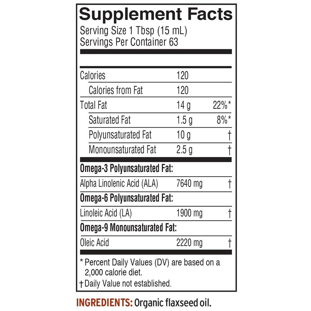Barlean's Fresh Organic Flax Oil, 32-oz by Barlean's Organic Oils (Image #3)