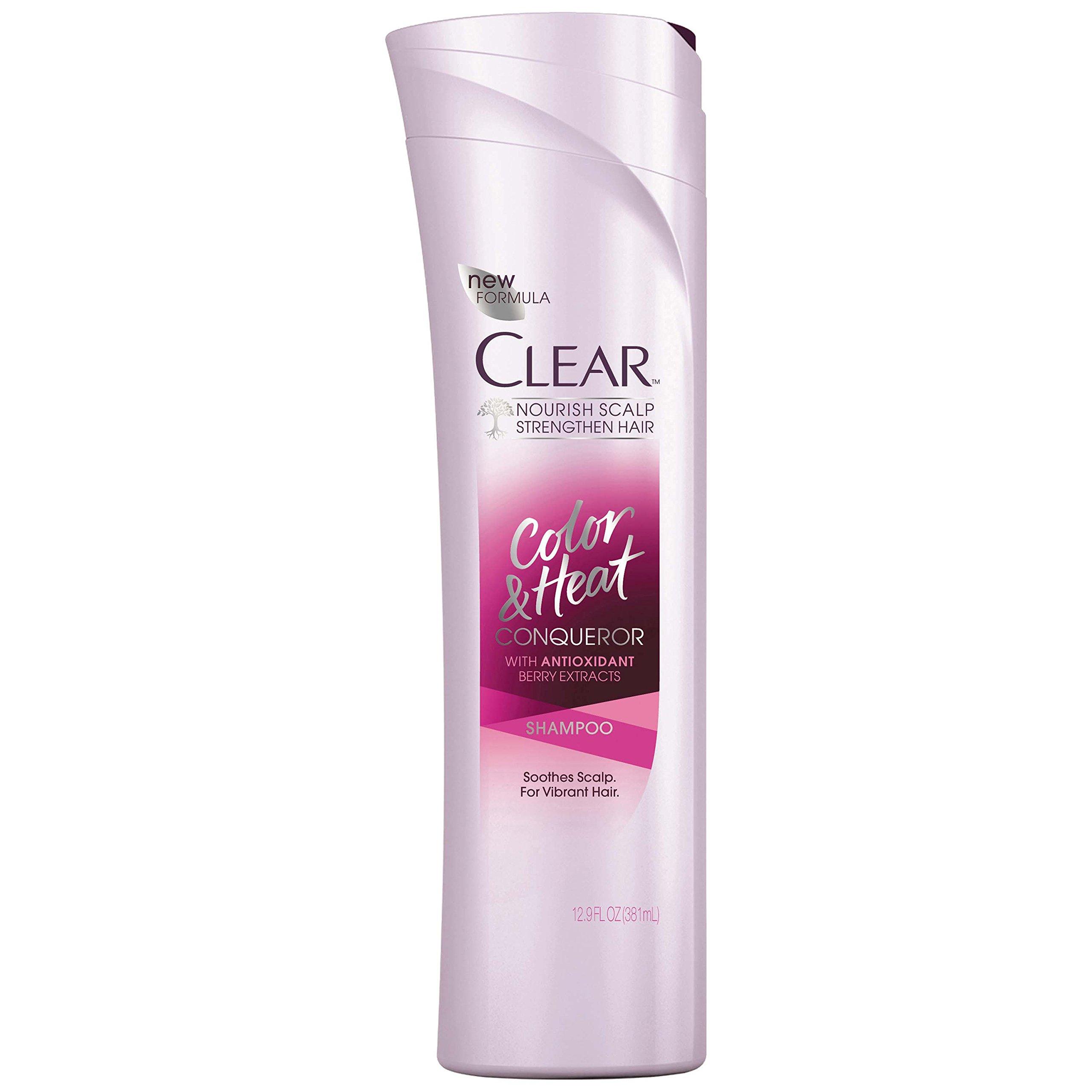 Amazon Clear Shampoo Color And Heat Conqueror 129 Oz