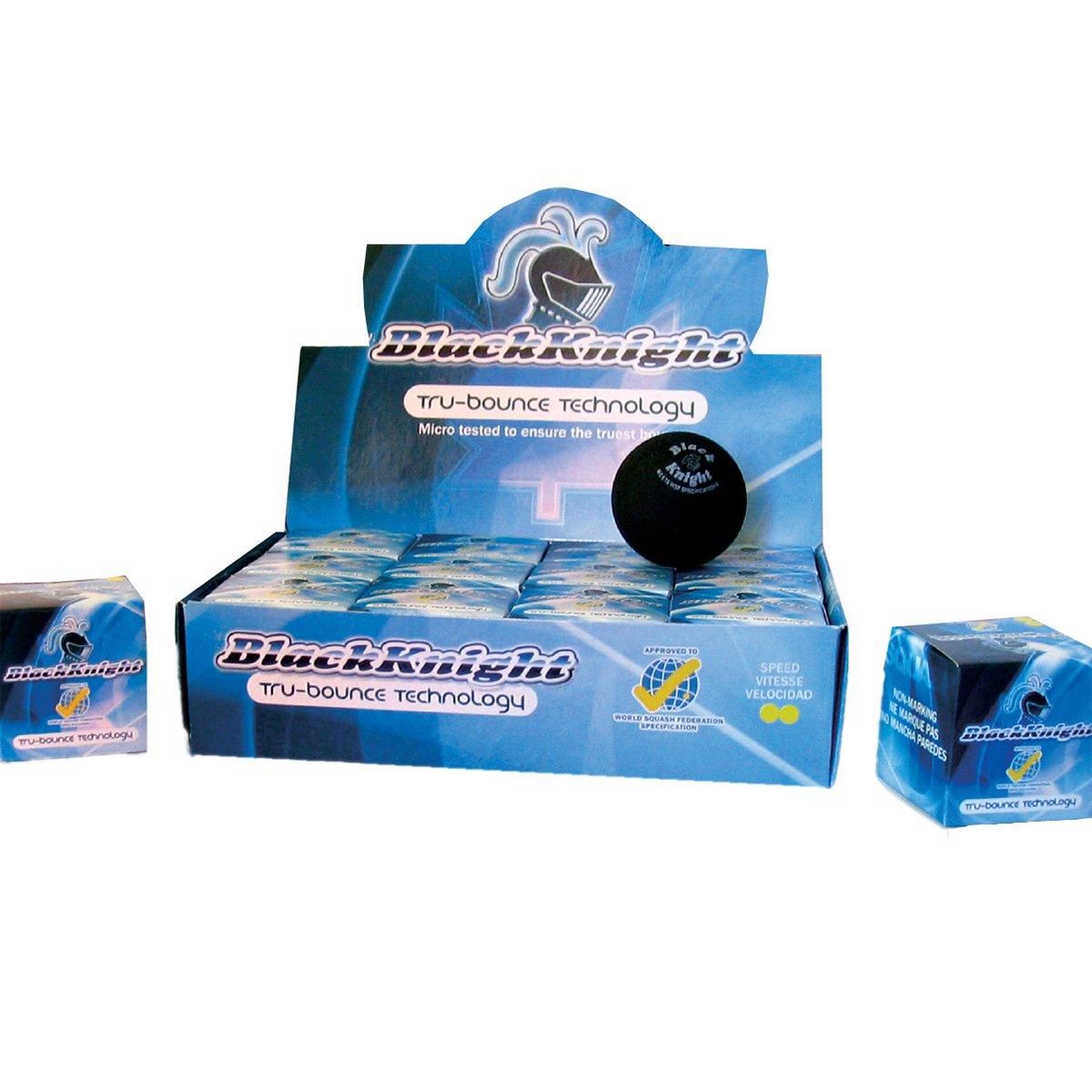 人気アイテム Black Knight Tru-Bounce Double Yellow Tru-Bounce Double Dot Squash Ball Dot [Misc.] B000RZE3DS, ブランド古着の買取販売 渋谷FILT:c74fd294 --- b2b.casemyway.com