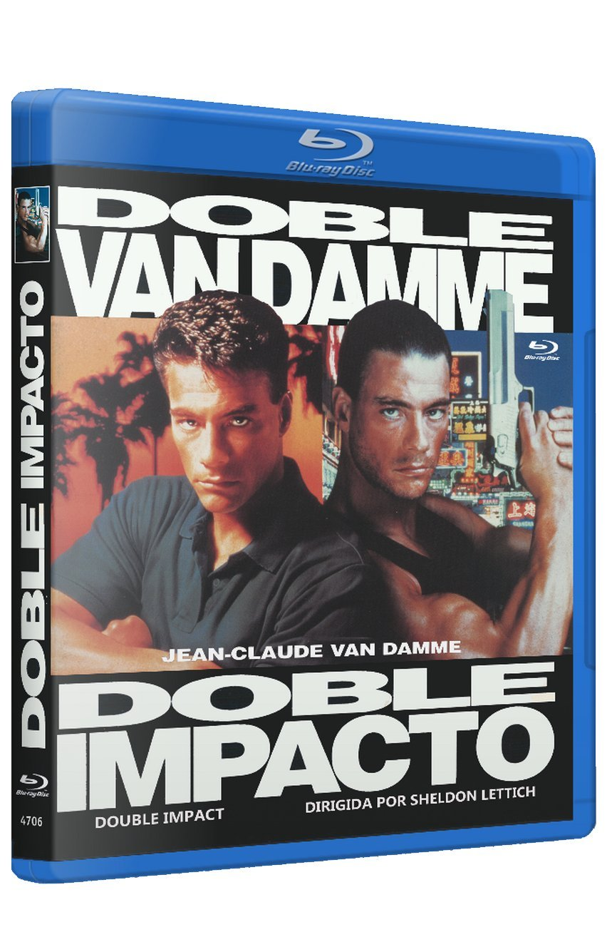 Doble Impacto 1991 BD Double Impact [Blu-ray]