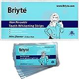 Briyte ® Professional (QUALITY TEETH WHITENING STRIPS) 28 Per Pack 14 sets (Peroxide Free) home teeth whitening strips tooth ingredients & Briyte crest