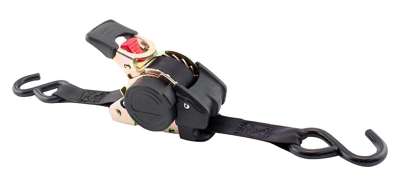 """environ 680.39 kg Erickson Pro Series 1/"""" x 6/' rétractables à cliquet sangles arrimage 1500 Lb 4Pcs"""