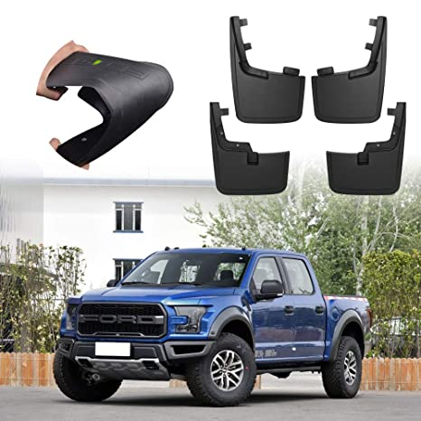 F150 Mud Flaps >> Molded Splash Guards Mud Flaps Without Wheel Lip For Ford F 150 2015 2018 Fender Flares Mudflaps Mud Guards