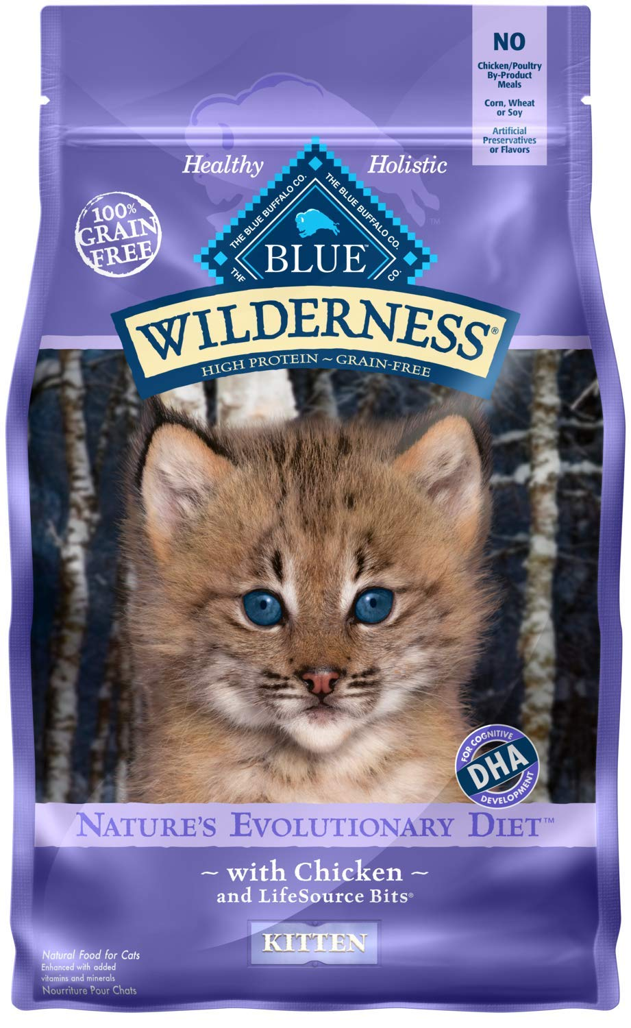 Blue Wilderness High Protein Grain Free Cat Food