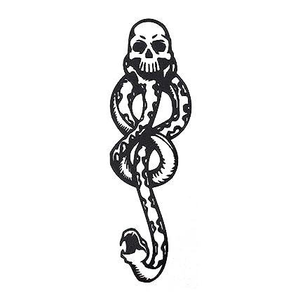COKOHAPPY Temporales Tatuaje (Conjunto 2) serpiente venenosa ...