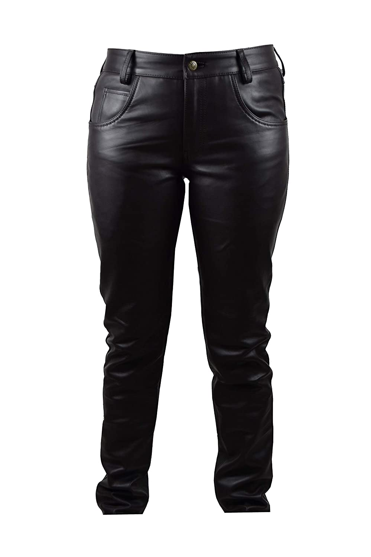 Zerimar Pantalones Hombre | Pantalones Piel Hombre ...