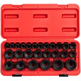 Sunex 2645 26-Piece 1.3cm . Drive Metric Impact Socket Set