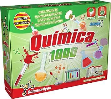 Science4you-Química 1000, edición en catalán (481142: Amazon.es: Juguetes y juegos