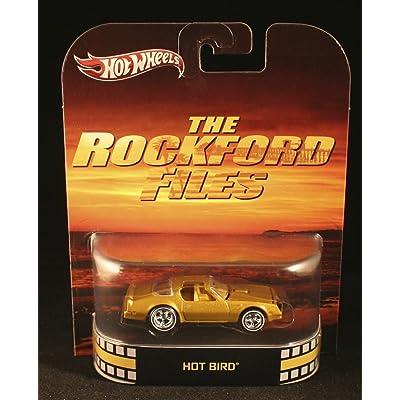 Hot Wheels Retro The Rockford Files Off 1:55 Die Cast Car Hot Bird: Toys & Games