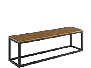 Mid Century Modern Bench Backless Bench