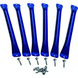 Monkey Bars (6 Pack) - Blue, One Size
