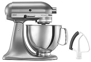 KitchenAid KSM150FECU Artisan Bundle Stand Mixers 5 quart Contour Silver